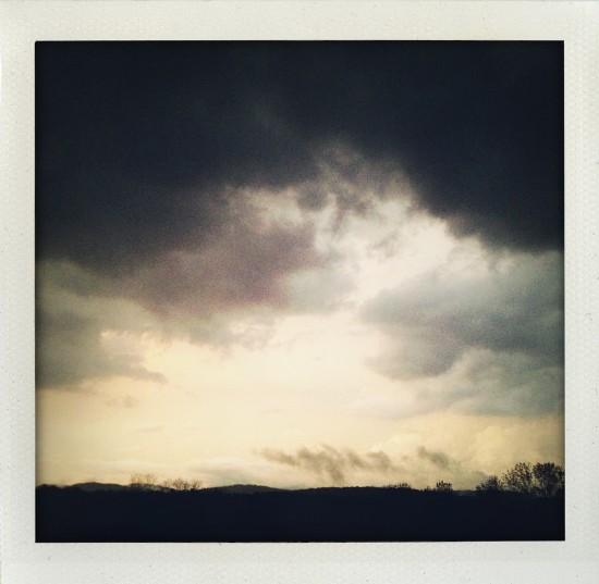'Storm' - archival Hahnemühle 310 gsm, framed. $1200