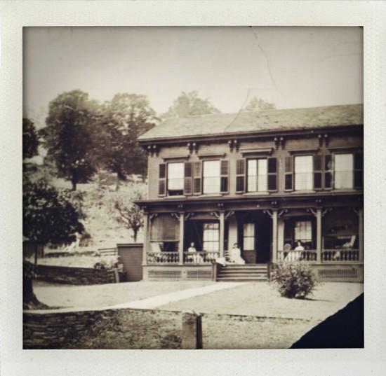 Jurjens Farmhouse, c. 1920