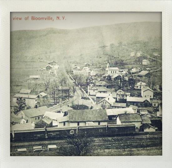 Railroad through Bloomville